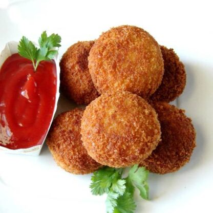 chicken-cutlet-with-chatni-8-pc